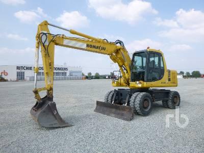 2002 KOMATSU PW130ES-6K Mobile Excavator