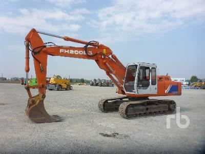 1997 FIAT-HITACHI FH200E.3 Hydraulic Excavator