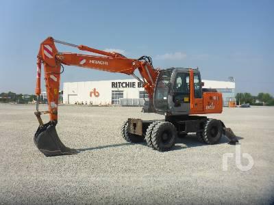 2004 HITACHI ZX130W Mobile Excavator