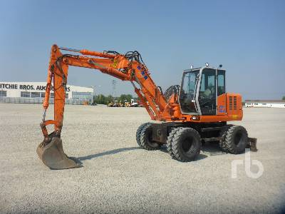 2001 FIAT-HITACHI FH120W Mobile Excavator