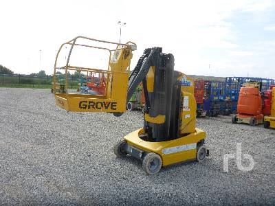 2000 GROVE TOUCAN 1000 Electric Boom Lift