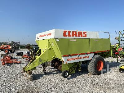 1992 CLAAS QUADRANT 2200RC Square Baler