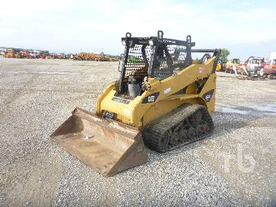 2008 CATERPILLAR 257B2 High Flow Multi Terrain Loader