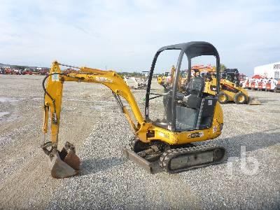 2007 JCB 8018 Mini Excavator (1 - 4.9 Tons)
