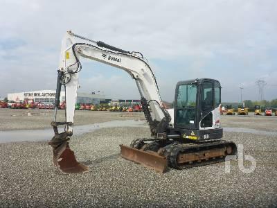 2013 BOBCAT E80EA Midi Excavator (5 - 9.9 Tons)