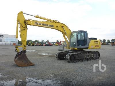 2005 NEW HOLLAND KOBELCO E245 Hydraulic Excavator