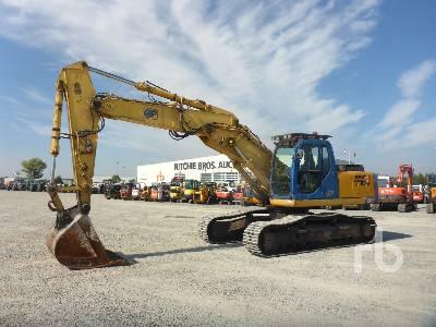 2006 NEW HOLLAND E305 Hydraulic Excavator
