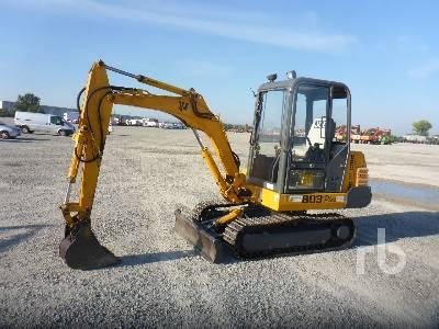 1996 JCB 8030 Mini Excavator (1 - 4.9 Tons)