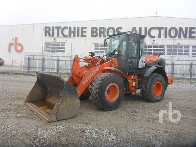 2016 HITACHI ZW150-5B Wheel Loader