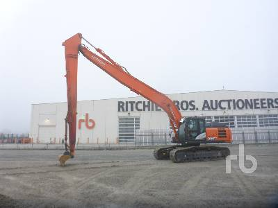 2016 HITACHI ZX300-6 Long Reach Hydraulic Excavator