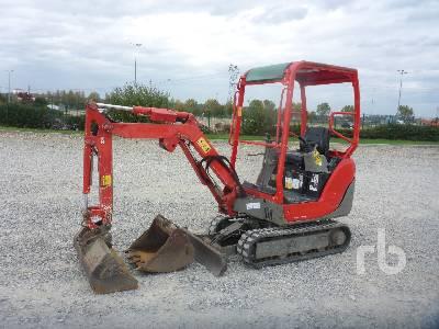 2013 YANMAR SV15 Mini Excavator (1 - 4.9 Tons)