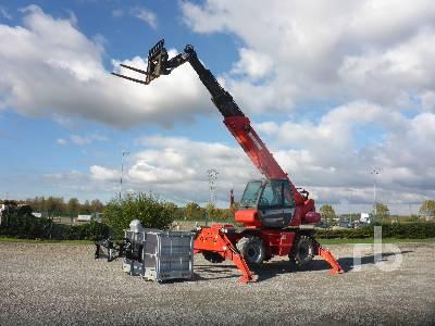 2015 MANITOU MRT1840 EASY 4000 Kg 4x4x4 Telescopic Forklift