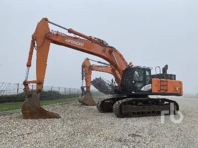 2013 HITACHI ZAXIS 470LCH-5B Hydraulic Excavator