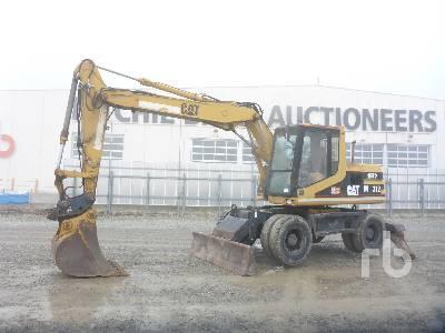 1997 CATERPILLAR M312 Mobile Excavator
