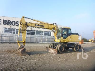 KOMATSU PW200-7K Mobile Excavator