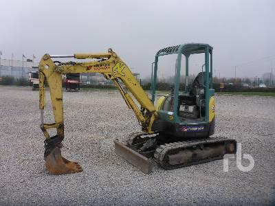 2007 YANMAR VIO30 Mini Excavator (1 - 4.9 Tons)