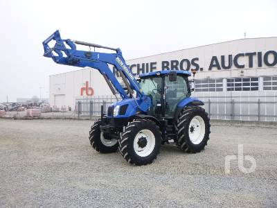 2013 NEW HOLLAND T6.140 MFWD Tractor