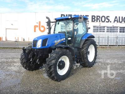 2013 NEW HOLLAND T6.165 MFWD Tractor