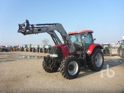 2011 CASE IH PUMA 160 MFWD Tractor