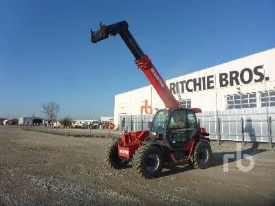 2012 MANITOU MHT860L 6000 Kg 4x4x4 Telescopic Forklift