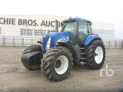 2006 NEW HOLLAND T8040 MFWD Tractor