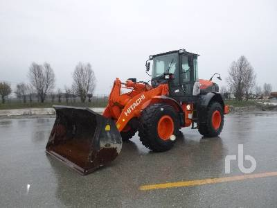 2017 HITACHI ZW150-5B Wheel Loader