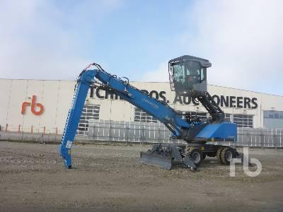 2018 FUCHS MHL335 T4F Material Handler