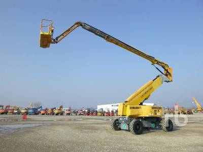 2009 HAULOTTE HA41PX Articulated Boom Lift