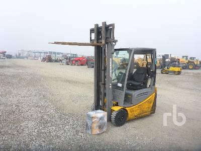 2016 JUNGHEINRICH EFG216K 1600 Kg Electric Forklift