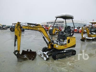 2012 NEW HOLLAND E18B Mini Excavator (1 - 4.9 Tons)