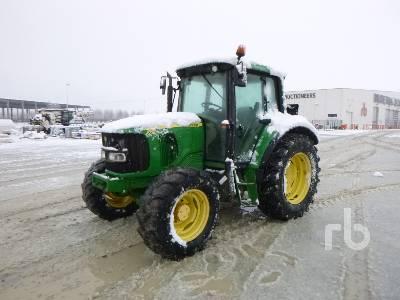 2002 JOHN DEERE 6130 MFWD Tractor