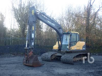 2010 VOLVO EC140CL LPG 1200mm Wide Tracks Hydraulic Excavator