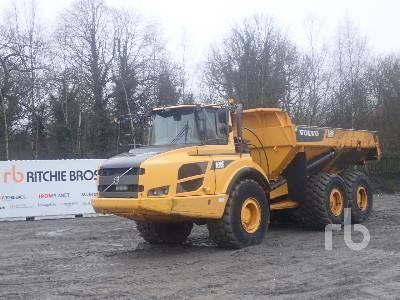 2012 VOLVO HAULER A30F Articulated Dump Truck