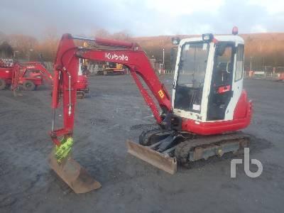 2011 KUBOTA KX61-3 Mini Excavator (1 - 4.9 Tons)