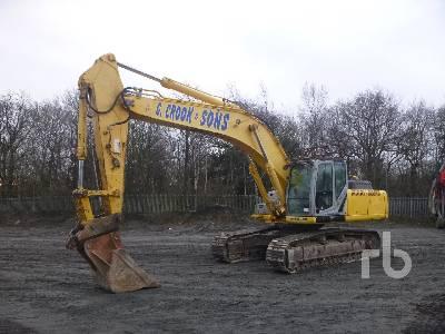 2010 NEW HOLLAND E385B Hydraulic Excavator