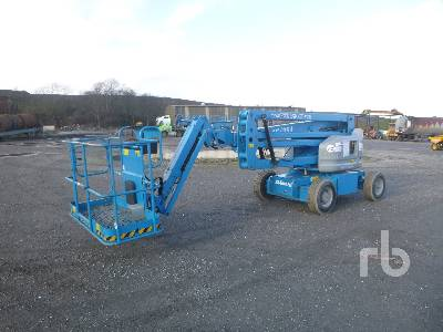 2017 GENIE Z45/25J Bi-Energy Electric Articulated Boom Lift