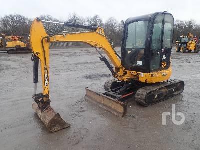 2014 JCB 8030 Mini Excavator (1 - 4.9 Tons)