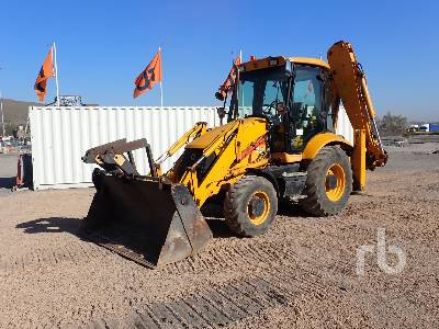 2008 JCB 3CX4T 4x4 Loader Backhoe