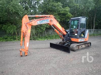 2013 HITACHI ZX65USB-3 CLR Midi Excavator (5 - 9.9 Tons)