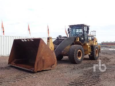 2013 CATERPILLAR 950K Waste High Lift Wheel Loader