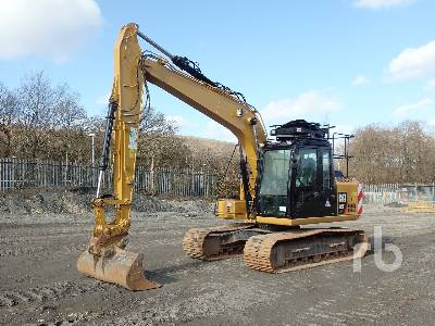 2017 CATERPILLAR 313FL GC Hydraulic Excavator