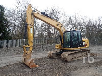 2016 CATERPILLAR 313FL GC Hydraulic Excavator