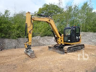 2018 CATERPILLAR 308E2 CR Midi Excavator (5 - 9.9 Tons)