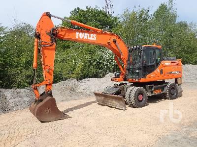 2014 DOOSAN DX190W-3 4x4 Mobile Excavator