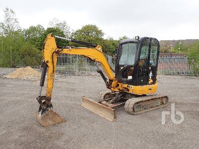 2014 JCB 8030 Mini Excavator (1 - 4.9 Tons)