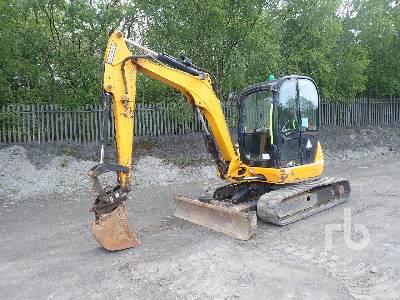 2013 JCB 8055RTS Midi Excavator (5 - 9.9 Tons)