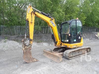2014 JCB 8055 Midi Excavator (5 - 9.9 Tons)