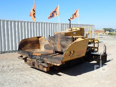 2011 CATERPILLAR BB621E Crawler Asphalt Paver