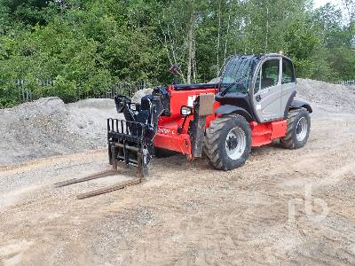 2018 MANITOU MT1440 Comfort 4x4x4 Telescopic Forklift