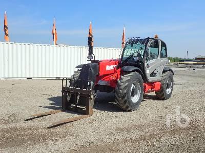 2017 MANITOU MT835 Easy 4x4x4 Telescopic Forklift